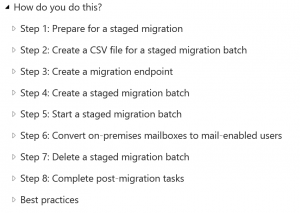 Staged-steps